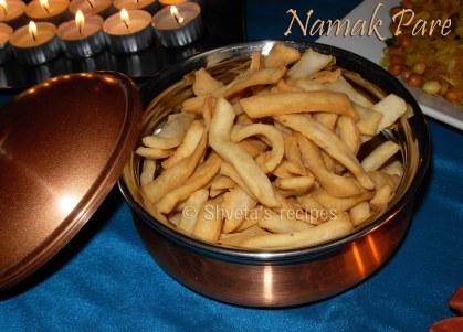 Namak Pare: Savory snack
